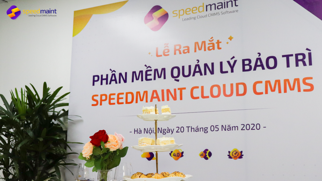 Lễ ra mắt phần mềm quản lý bảo trì SpeedMaint Cloud CMMS
