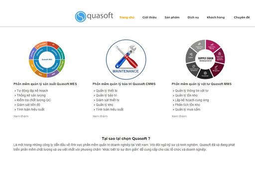 Phần mềm quản lý bảo trì Quasoft