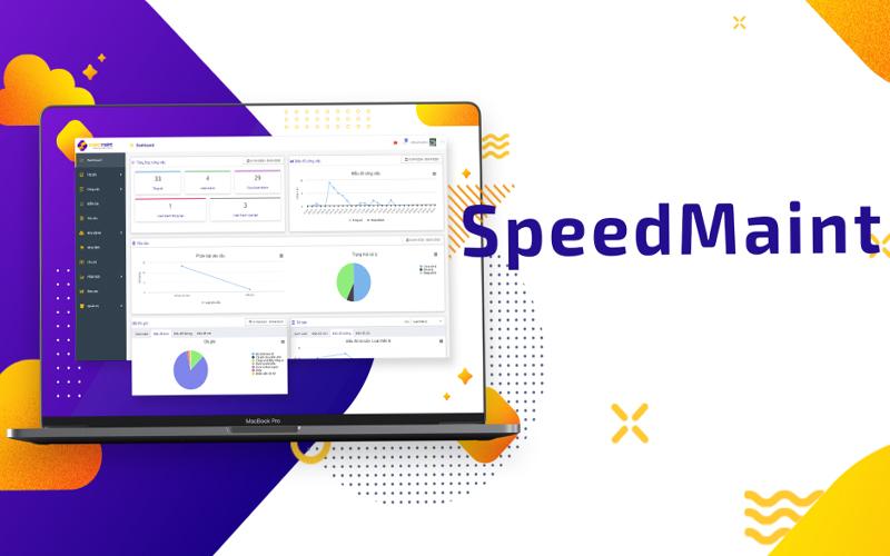Ứng dụng phần mềm quản lý bảo trì SpeedMaint