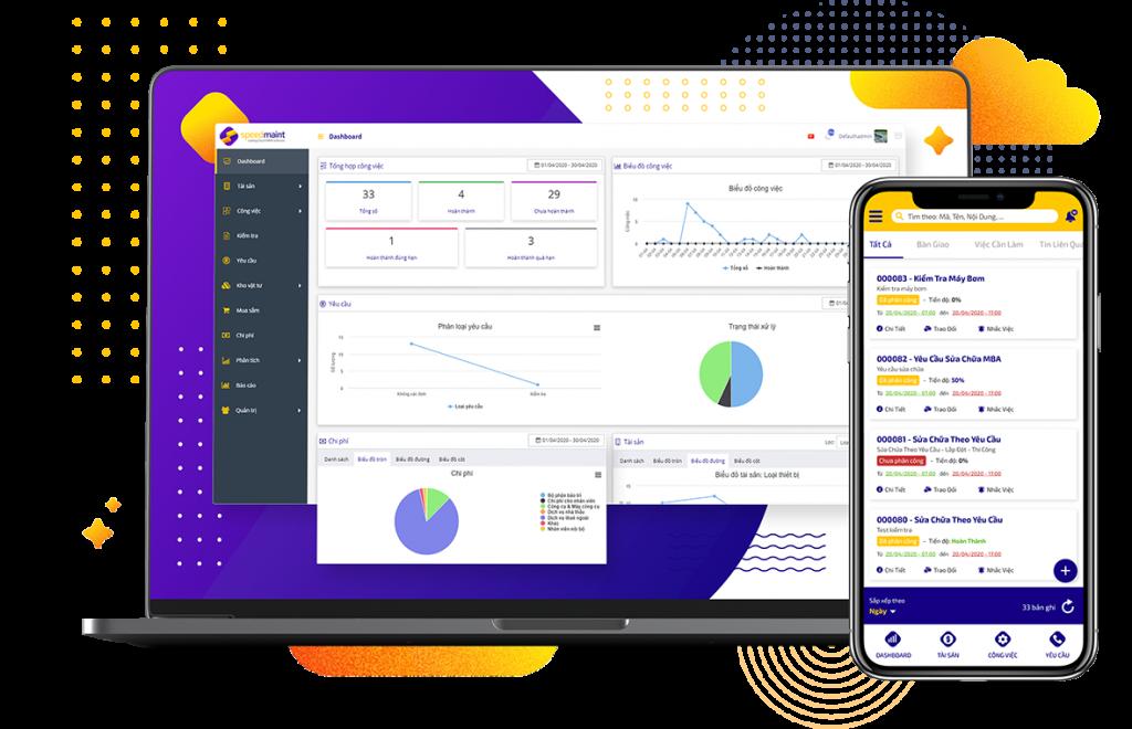 Phần mềm CMMS đang dần thay thế phương pháp quản lý thiết bị bằng Excel truyền thống