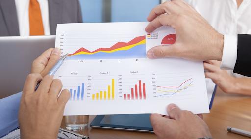 Tạo đồ thị là một trong những phương thức giúp việc phân tích chỉ số đơn giản hơn