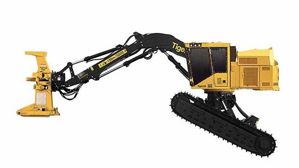 Máy cắt cây là máy công trình hạng nặng được sử dụng để cắt bỏ các loại cây cao