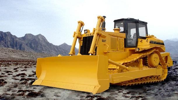 Máy ủi dùng để loại bỏ đất, các tầng đá, nâng đất,...
